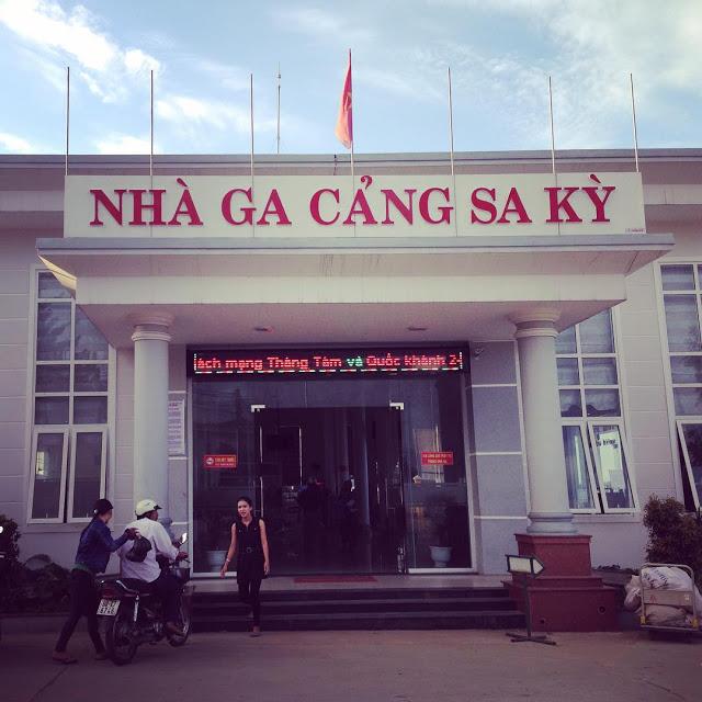 Nhà Ga Cảng Sa Kỳ - Quảng Ngãi