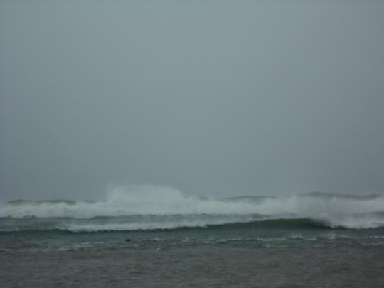 Biển Lý Sơn ngày 16.12.