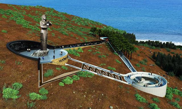 Dựng cảnh 3D dự án 'Người mẹ thắp lửa' trên đảo Lý Sơn - Hình 1