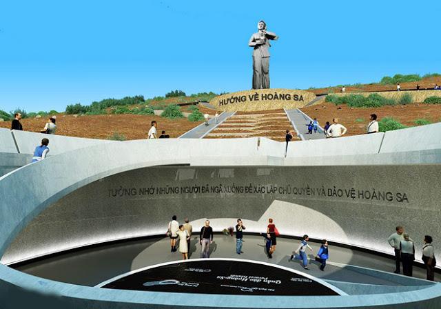 Dựng cảnh 3D dự án 'Người mẹ thắp lửa' trên đảo Lý Sơn - Hình 2
