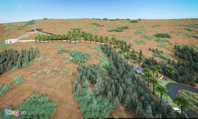 Dựng cảnh 3D dự án 'Người mẹ thắp lửa' trên đảo Lý Sơn - Hình 8