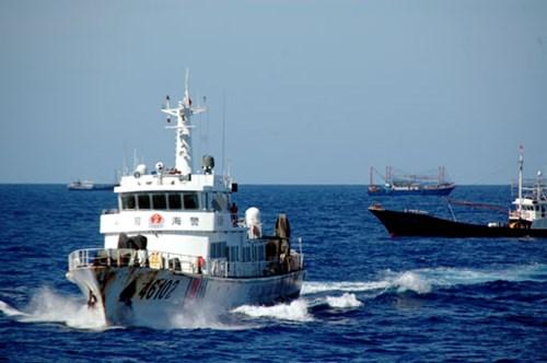 Tàu Cảnh sát biển Trung Quốc - những bóng ma reo rắc nỗi kinh hoàng trên Biển Đông.