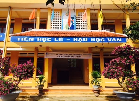 Trường THCS An Vĩnh, Huyện Lý Sơn, Tỉnh Quảng Ngãi