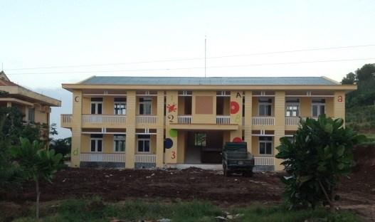Trường mẫu giáo tại xã An Vĩnh - Huyện Lý Sơn