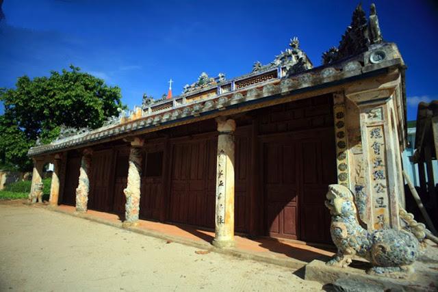 Ngôi đình cổ nổi tiếng nhất đảo Lý Sơn - Hình 4