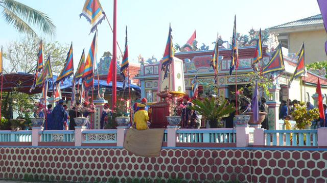 Âm linh tự, nơi thờ tự đội dân binh Hoàng Sa trên đảo Lý Sơn.