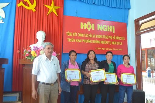 Hội nghị tổng kết công tác hội và phong trào phụ nữ huyện Lý Sơn 2015 - Hình 3