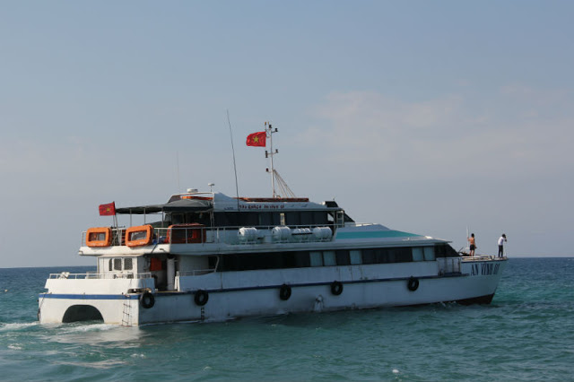 Tàu chở khách tuyến Sa Kỳ - Lý Sơn đã tạm dừng hoạt động từ ngày 23/1.