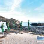 Công tác tuần tra bảo vệ chủ quyền vùng biển trong thời gian diễn ra bầu cử đang được tăng cường. ẢNH: KHÁNH TOÀN