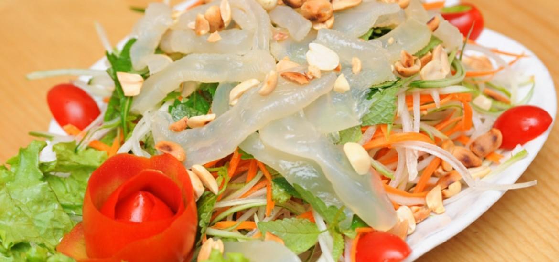 Gỏi sứa- đặc sản Lý Sơn