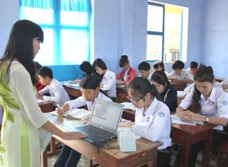 Với sự chủ động về hình thức thi, nhà trường sớm bồi dưỡng và bổ trợ kiến thức giúp học sinh Lý Sơn tự tin cho kỳ thi tốt nghiệp THPT quốc gia năm 2016.