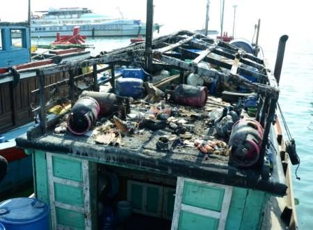 Nổ bình gas khiến 2 ngư dân Lý Sơn tử nạn trên vùng biển Trường Sa.