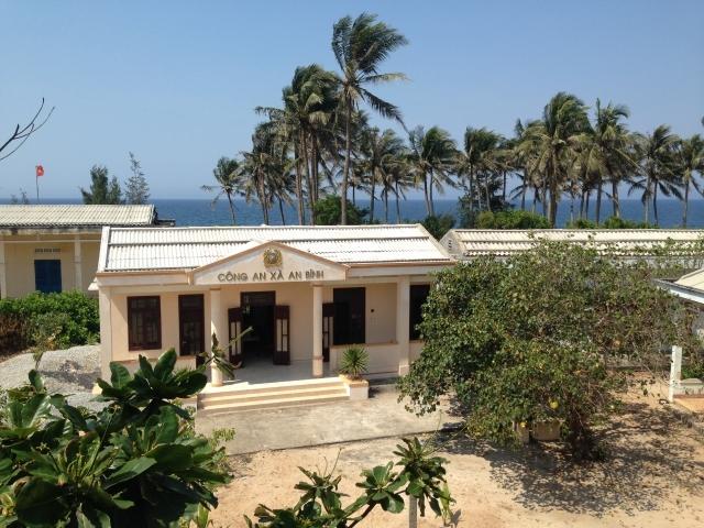 Một góc đảo Bé, xã đảo An Bình, huyện đảo Lý Sơn.