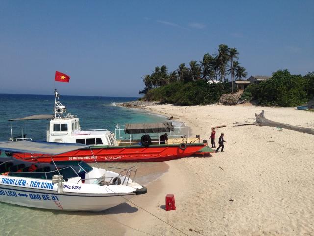 Du lịch đảo Lớn, đảo Bé đang phát triển nhanh.