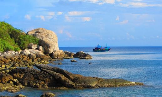 Biển Sa Huỳnh (Quảng Ngãi).