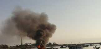 Nổ bình ga trên tàu cá làm thiệt hại về người và tài sản của ngư dân( Ảnh minh họa)