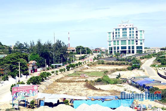 Một góc huyện đảo Lý Sơn hôm nay.