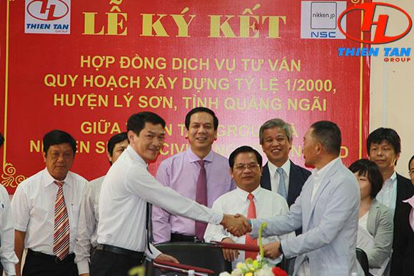 Thiên Tân Group bắt tay Nhật Bản quy hoạch đảo Lý Sơn