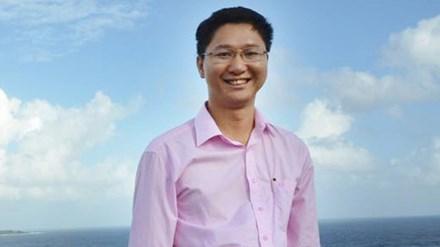 Ông Nguyễn Viết Vy - tân Bí thư Huyện ủy Lý Sơn