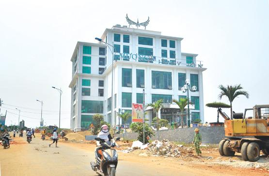 Tập đoàn Mường Thanh đang đầu tư khách sạn tại huyện đảo Lý Sơn.Đô thị biển đang hình thành