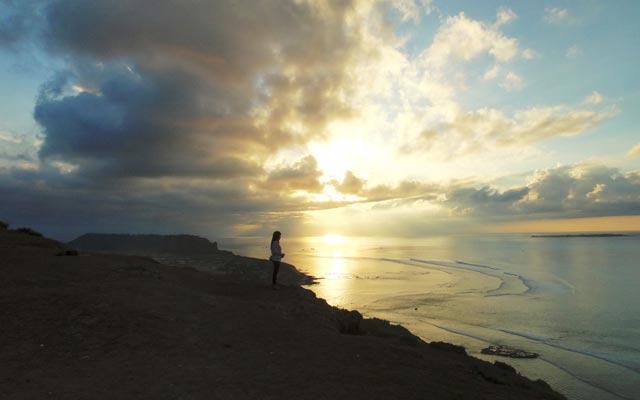 Biển Lý Sơn tuyệt đẹp.