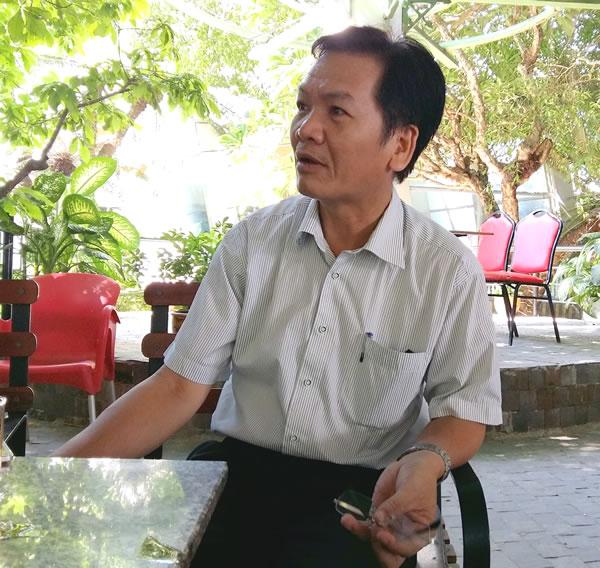 """""""Không thể phát triển Lý Sơn thành đô thị biển đảo, phải giữ tính nguyên sơ của nó"""", ông Phan Đình Độ nhìn nhận."""