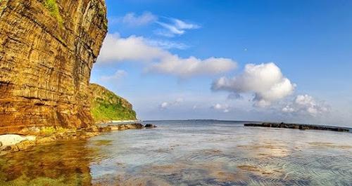 Một thắng cảnh đẹp ở đảo Lý Sơn