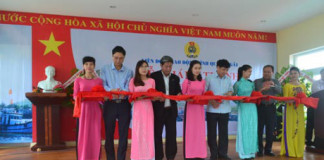 Lễ khánh thành trụ sở làm việc và nhà khách LĐLĐ huyện đảo Lý Sơn, tỉnh Quảng Ngãi