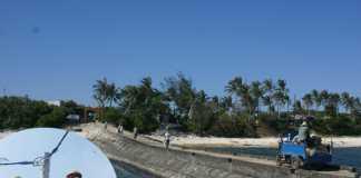 Có điện lưới quốc gia không chỉ phục vụ sinh hoạt, sản xuất của bà con trên đảo Lý Sơn, mà còn phát triển du lịch và góp phần ổn định an ninh - quốc phòng