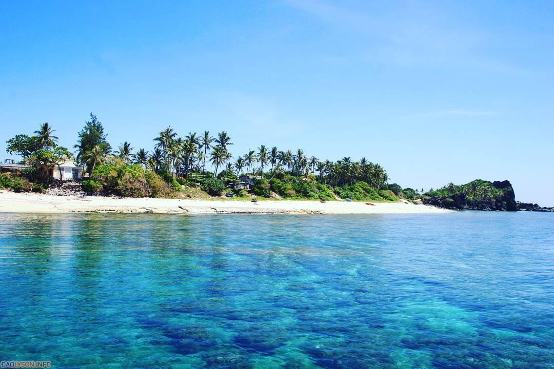 Vẻ đẹp hoang sơ tại Đảo Bé