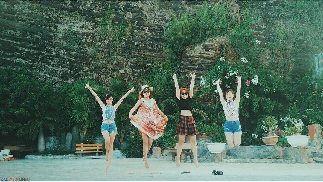 Nhiều du khách đã đến Lý Sơn trong năm 2016