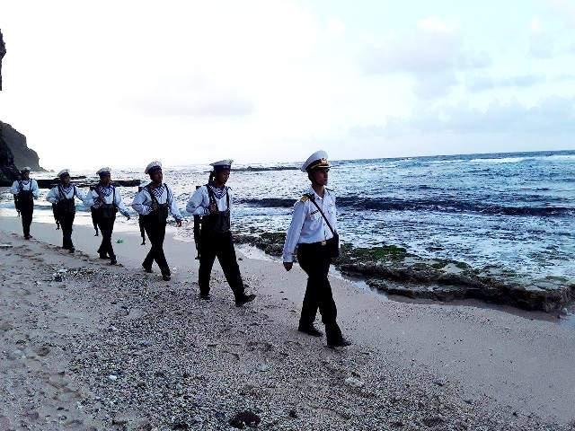 Tuần tra, bảo vệ chủ quyền biển đảo quê hương