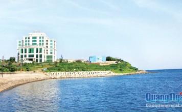 Bờ biển Lý Sơn hôm nay đã sạch đẹp hơn