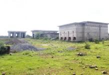 Công trình cấp nước sạch ở xã Hải Chánh, huyện Hải Lăng, tỉnh Quảng Trị đang bỏ hoang Ảnh: Quang Nhật