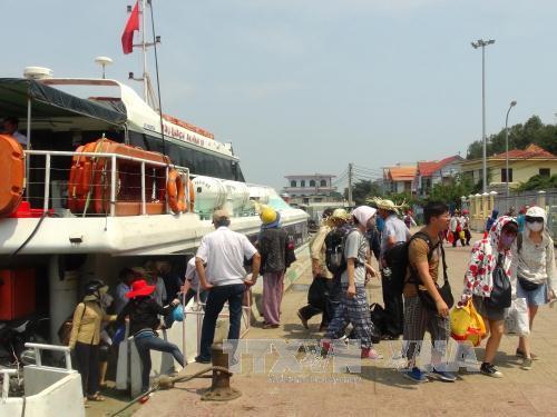 Cảng Sa Kỳ, Quảng Ngãi. Ảnh: Vĩnh Trọng/TTXVN