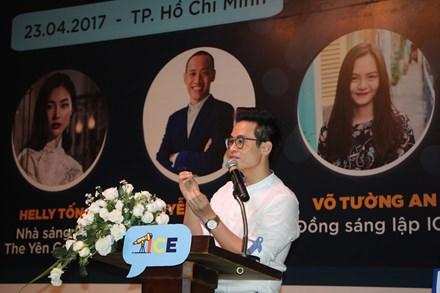 Là diễn giả khách mời, ca sĩ Hà Anh Tuấn mang đến sự kiện câu chuyện về lòng biết ơn với những điều kiện tốt mà mỗi người nhận lấy