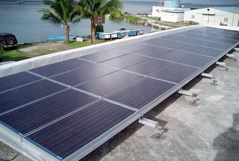Hệ thống điện mặt trời sẽ góp phần bảo vệ môi trường biển tại đảo Bé - Lý Sơn (Ảnh minh họa)