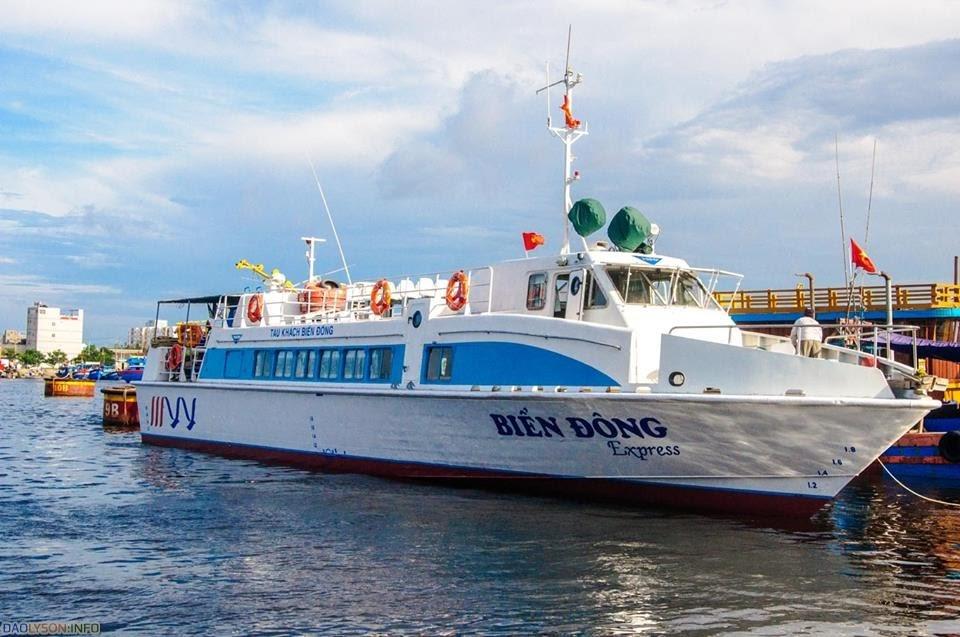 Tàu cao tốc Biển Đông ( Hình minh họa)