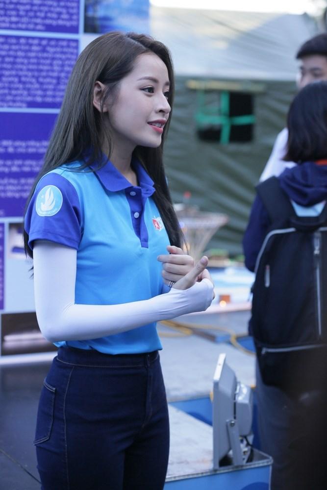 Diễn viên Chi Pu có mặt ở nhiều sự kiện quan trọng của chương trình.