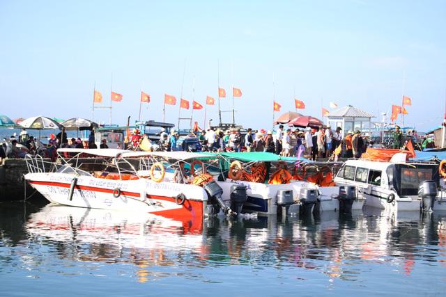Tỉnh Quảng Ngãi quyết định đình chỉ 10 phương tiện vận tải tuyến đảo Lớn - đảo Bé nhằm đảm bảo an toàn cho khách du lịch.