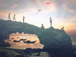 Hoàng hôn trên đảo Lý Sơn