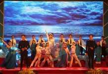 Một trong những tiết mục đặc sắc tại Liên hoan văn hóa biển, đảo Quảng Ngãi năm 2017.