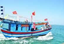 Nhiều hình ảnh về ngư dân và nghề khai thác hải sản đã được giới thiệu tại Tuần lễ văn hóa biển Quảng Ngãi.