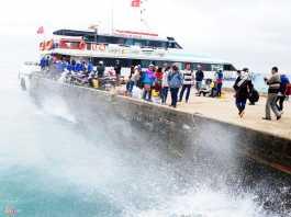 Vùng biển Lý Sơn luôn có gió cấp 6 cấp 7 kèm theo sóng to