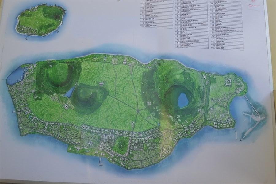 Bản đồ quy hoạch tỷ lễ 1/2000 huyện Lý Sơn.