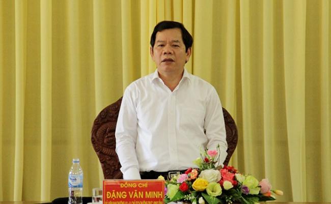 Ông Đặng Văn Minh, Phó chủ tịch thường trực UBND tỉnh Quảng Ngãi