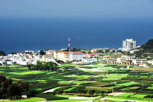 Trung tân huyện đảo Lý Sơn ngày càng khang trang