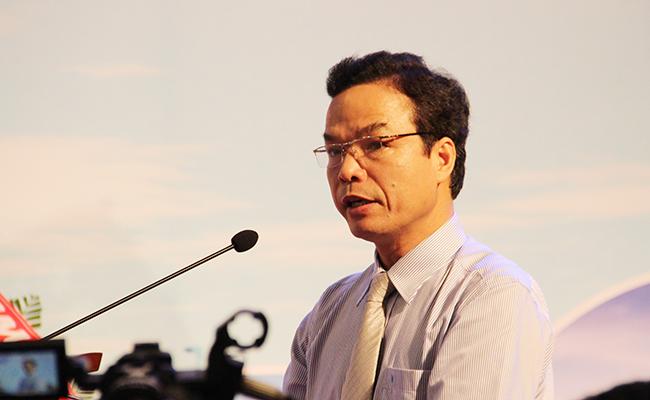 Ông Đặng Ngọc Dũng, Phó chủ tịch UBND tỉnh Quảng Ngãi, Trưởng BQL Công viên địa chất Lý Sơn
