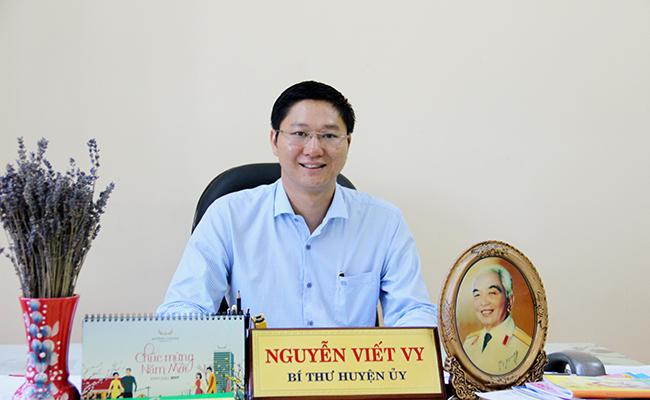 Bí thư Huyện ủy Lý Sơn Nguyễn Viết Vy