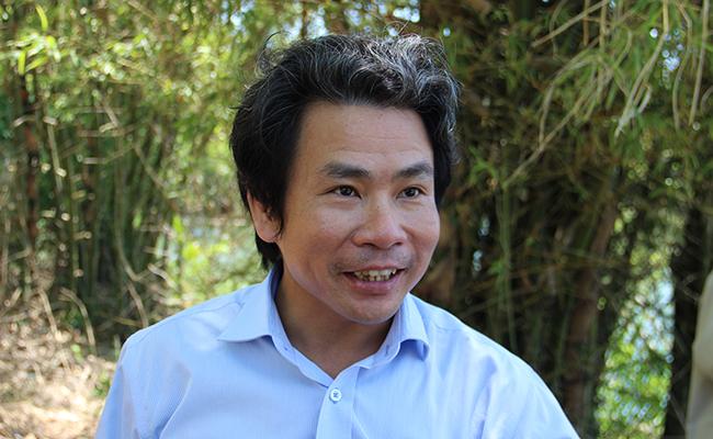 PGS.TS. Võ Văn Minh - Ảnh: Lê Đình Dũng